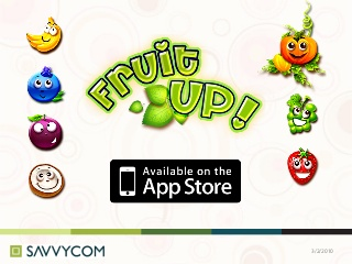 Fruit up, puzzle iphone game, iphone game app