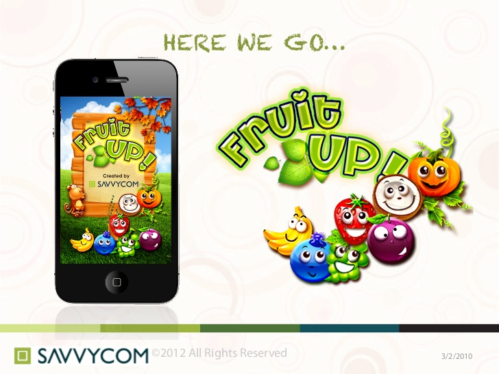 Fruit Up, Ios apps, appstore, savvycom apps
