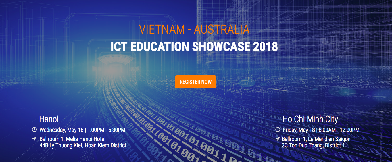 Savvycom at Vietnam-Australia ICT Education Showcase 2018