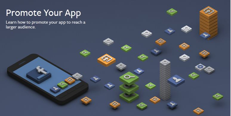 promote an app by using social media