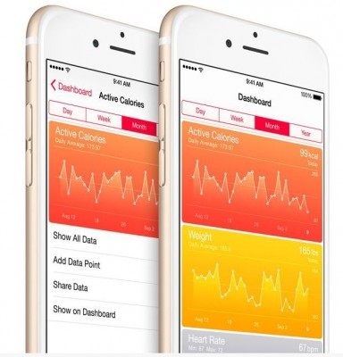 An entirely new way to see your health and fitness information