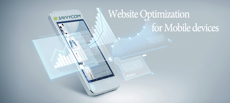 optimized website for mobile devices