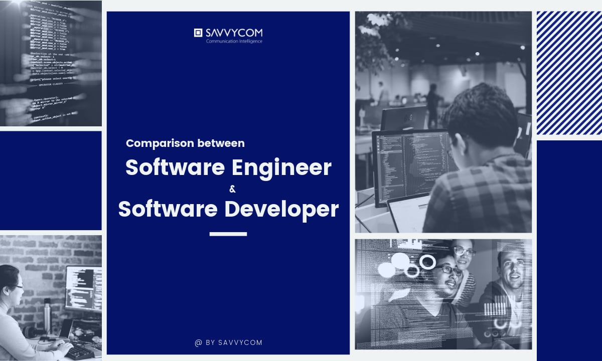 difference between software engineer and software developer