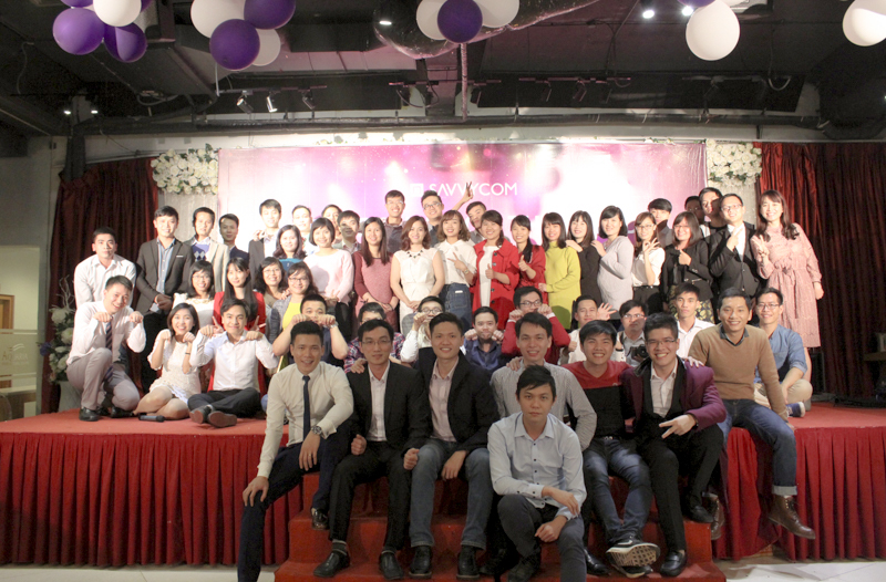 Savvycom people took a big picture together