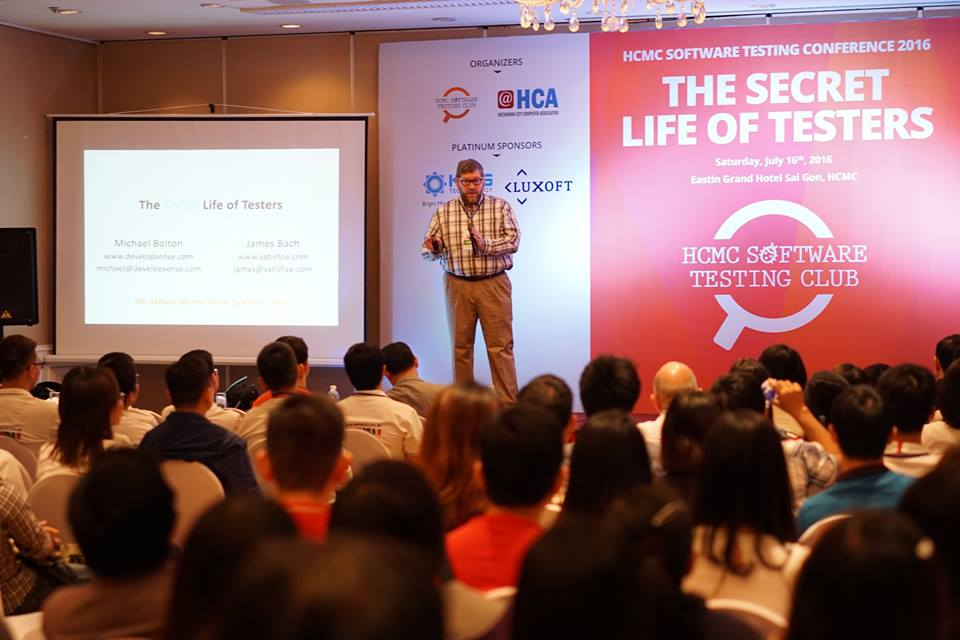 HCMC Software Testing Conference 2016