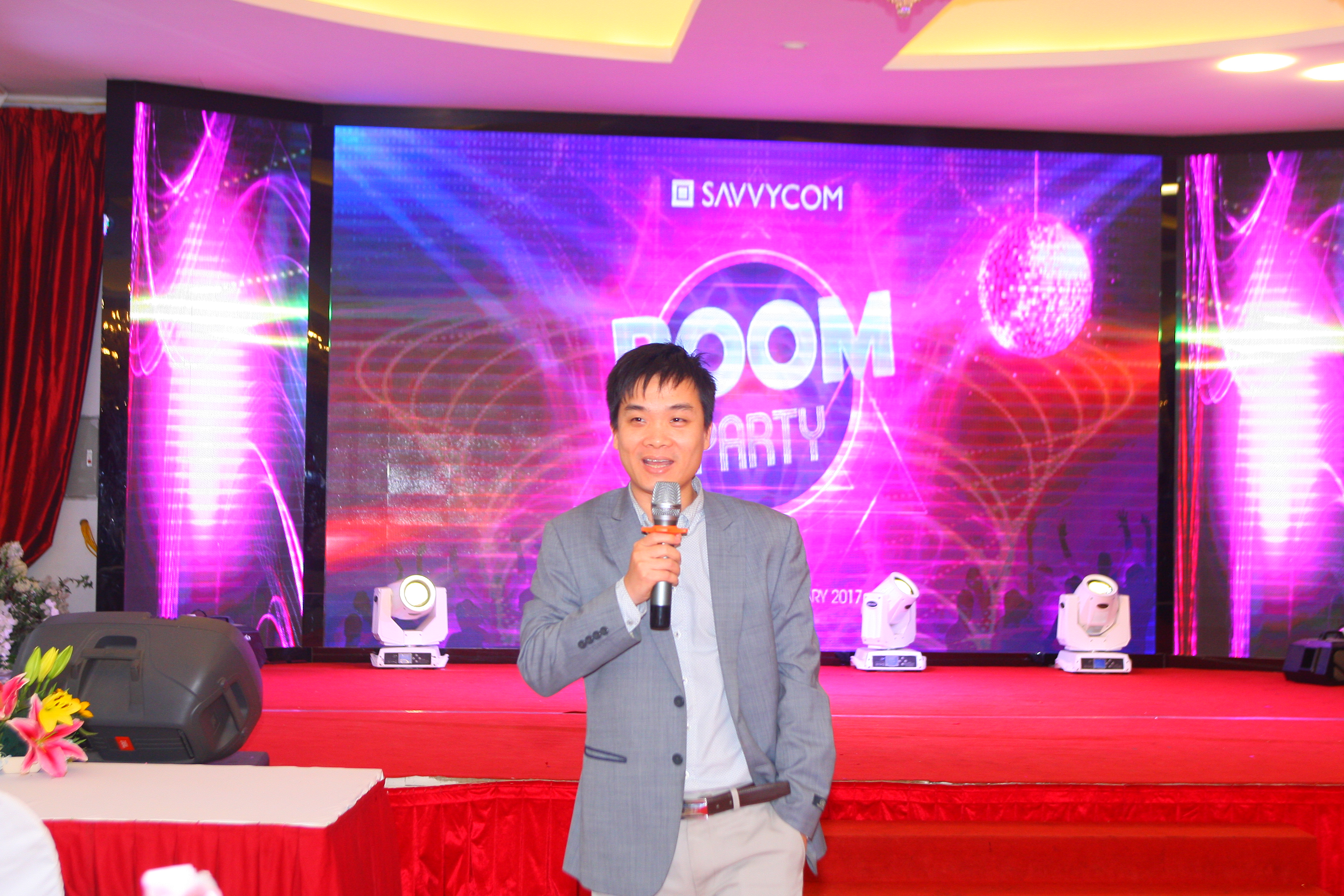 Our Chairman-Mr.Vinh shared Savvycom vision in the new year