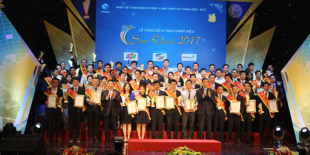 Noble Award to Savvycom at Sao Khue 2017