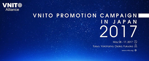 VNITO Promotion Campaign in Japan 2017