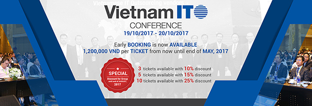 VNITO Conference 2017 – The Vietnam's Biggest IT Outsourcing Event