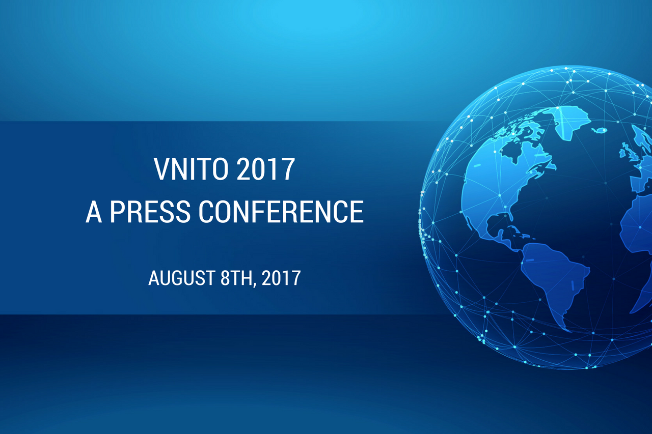 A Press Conference of Upcoming VNITO 2017