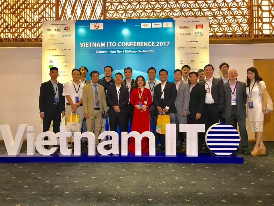 ITO Business Leaders from Hanoi at the Conference