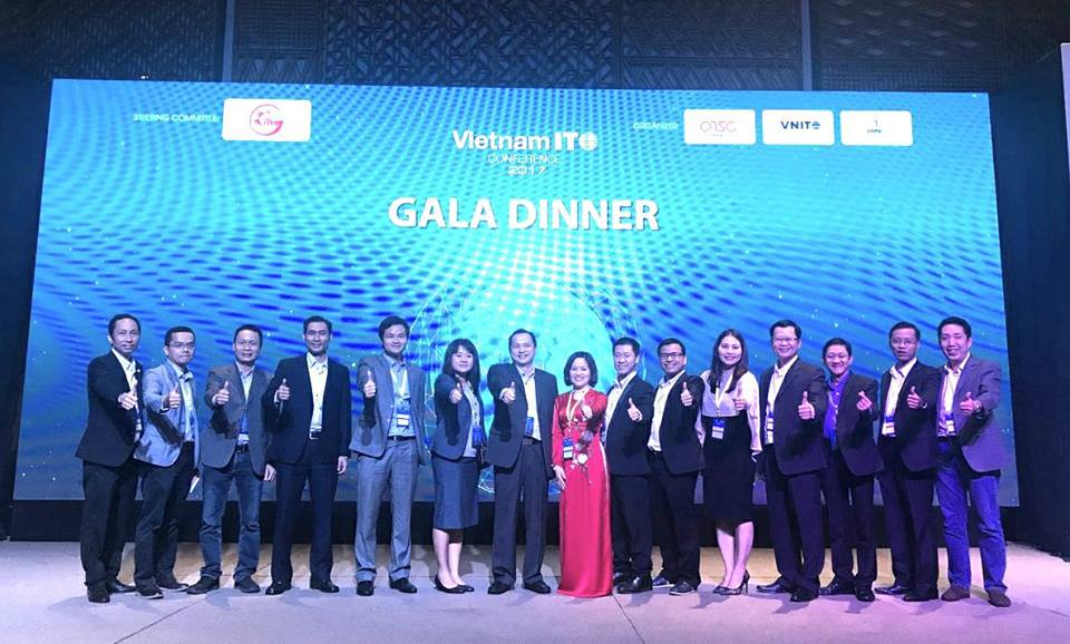 Vietnam ITO Conference Organizing Committee before the Gala Dinner