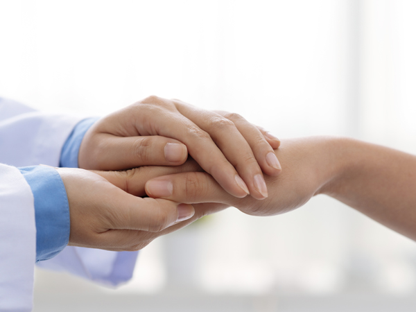 healthcare firms, startups, doctor, hold hand, patient