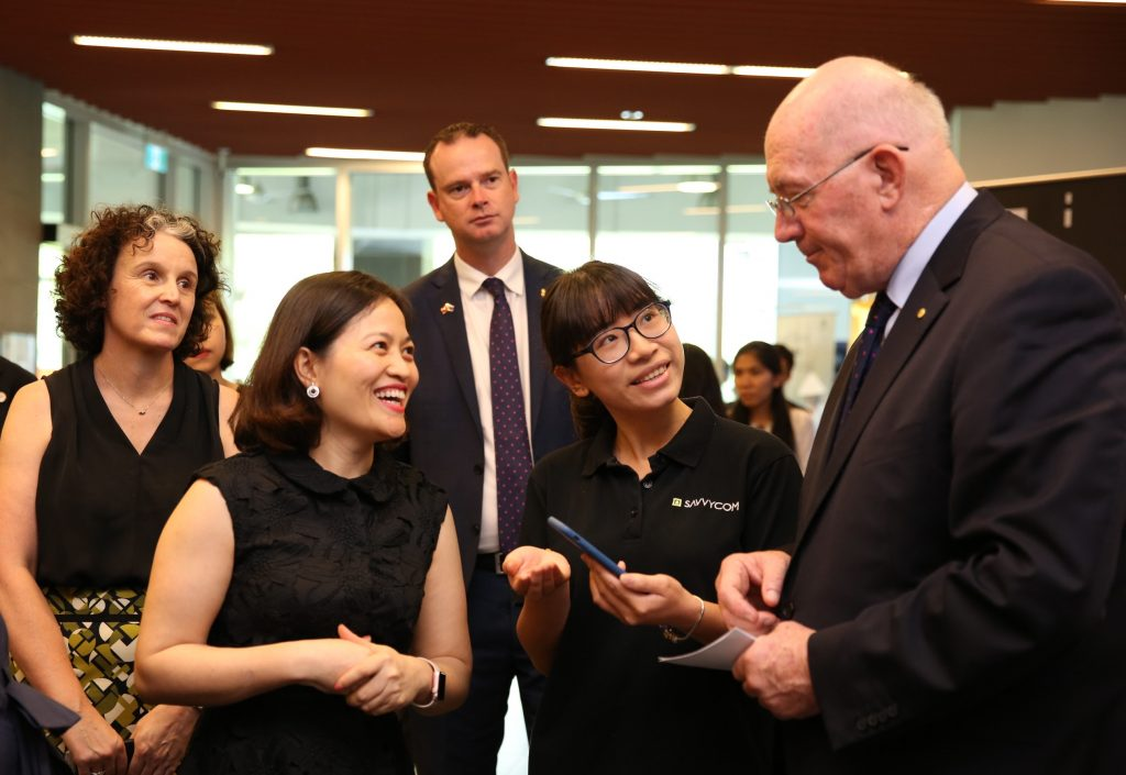 the Australian Governor-General, His Excellency General the Honorable Sir Peter Cosgrove and Lady Cosgrove