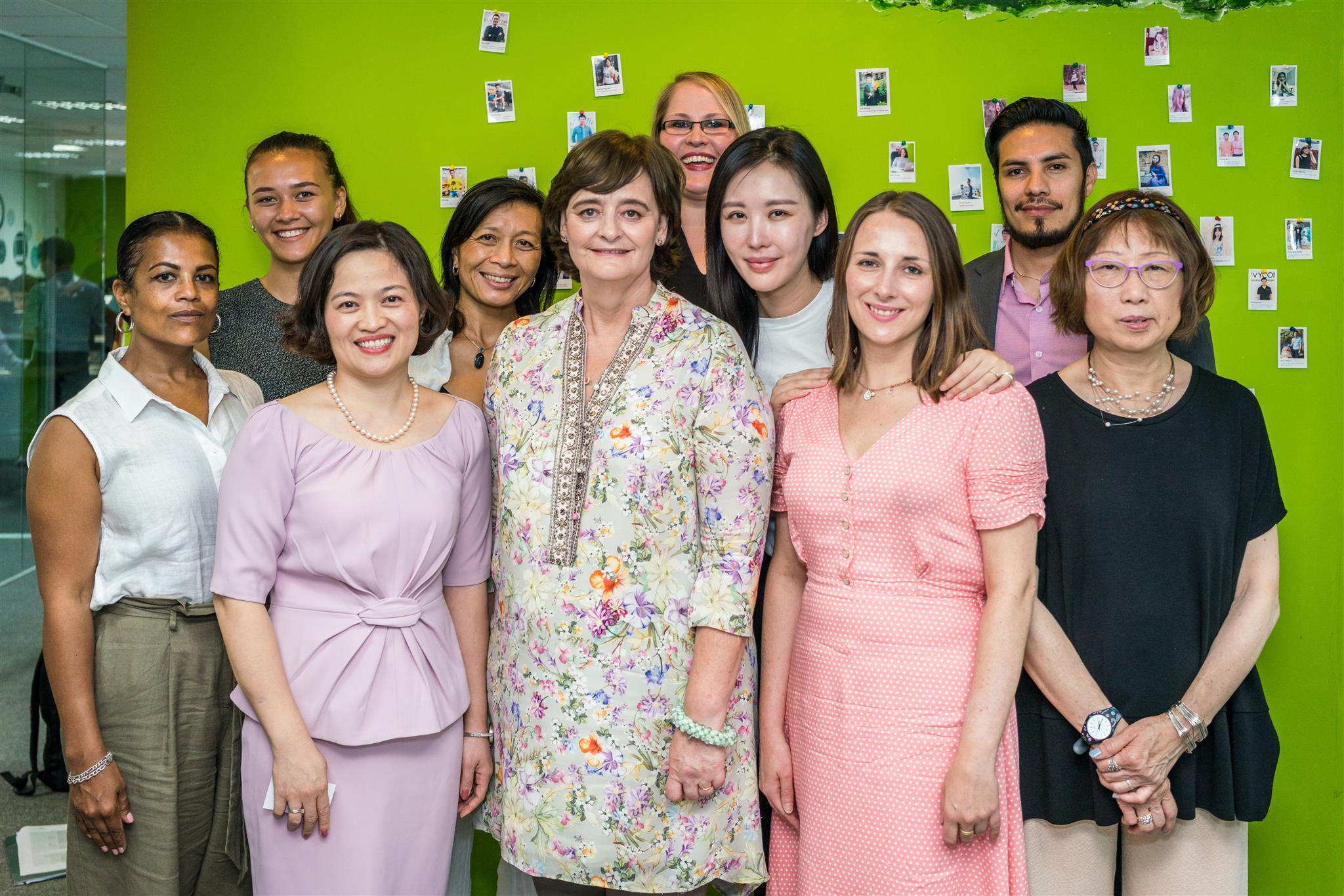 Cherie Blair, Cherie Blair Foundation for Women, Qualcomm, Van Dang, Savvycom