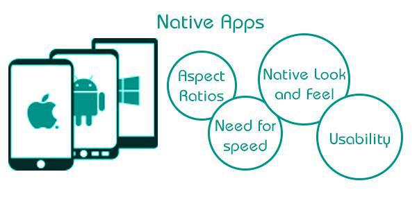 natvie app features