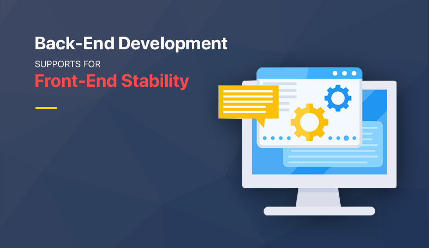 backend development supports for front end