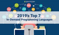 2019's Top 7 In-Demand Programming Languages