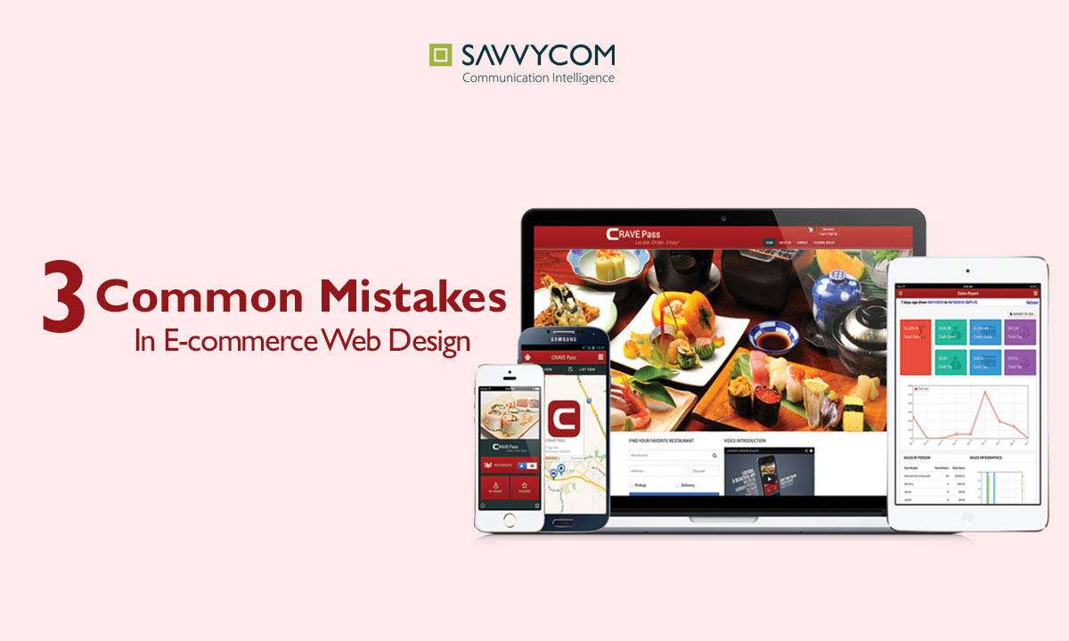 3 common mistakes in ecommerce web design