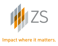 ZS largest it service firm