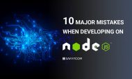 10 major mistakes when developing on Node.js